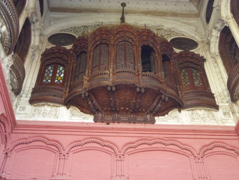 Beautiful Jharoka in Umer Hayat Mahal