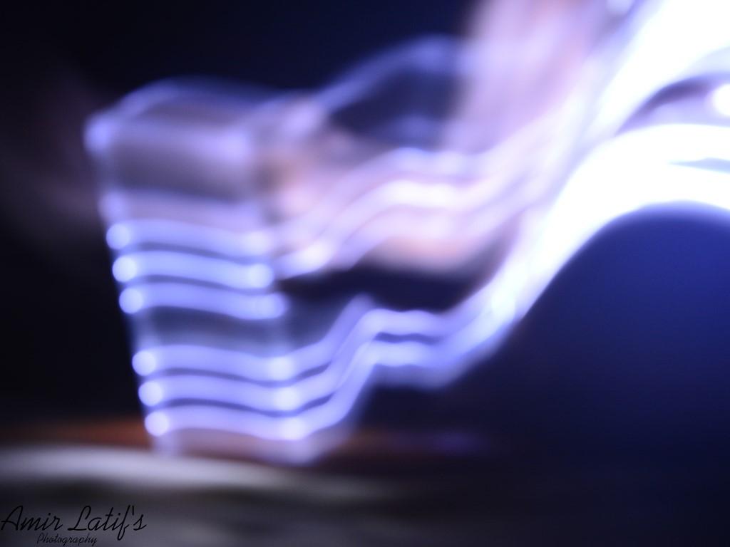 Blurred Lightss