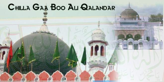 Chilla Ga Boo Ali Qalandar