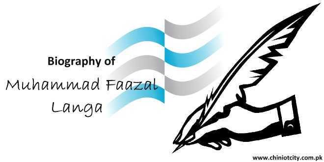 Biography of Muhammad Faazal Langa