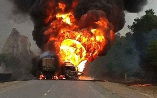 Chiniot :: Tanker Accident