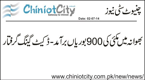 Chiniot :: Another Dacoits gang got arrested