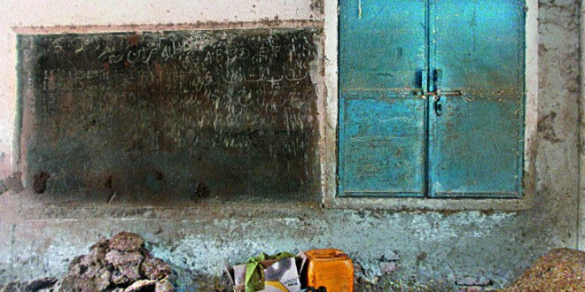 In Chiniot: Decades later, no sign of education at crumbling 'school'